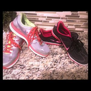 Two pairs of nike shoes $15 each or 2 for $25